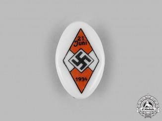 Germany, HJ. A 1934 HJ Summer Solstice Badge