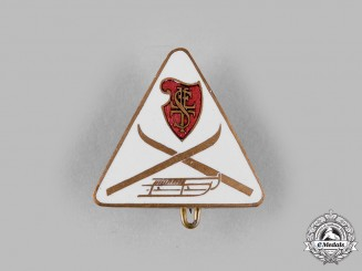 Germany, Third Reich. A Third Reich Period Winter Sports Badge by Josef Mayr