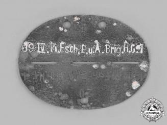 Germany, Heer. A Telephone Engineer Company Identification Tag