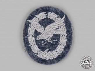 Germany, Luftwaffe. A Radio Operator Badge, Cloth Version