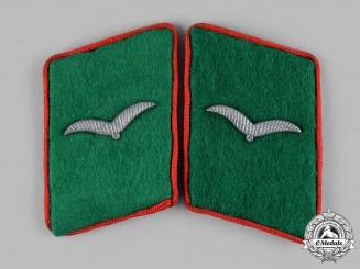 Germany, Luftwaffe. A Set of Attached Troops Flak/Artillery Fliger Collar Tabs