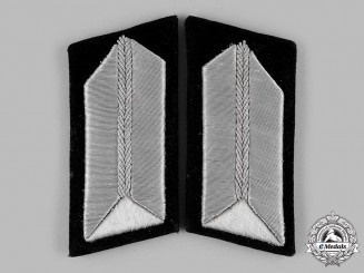 Germany, RAD. A Set of Reich Labour Service (RAD) Oberstfeldmeister/Unterfeldmeister Collar Tabs