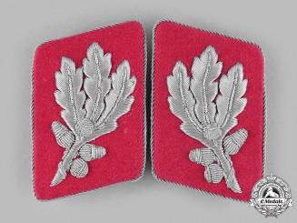 Germany, SA. A Set of Sturmabteilung (SA) Gruppenführer Collar Tabs