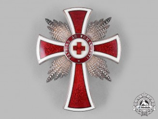 Austria, Imperial. An Honour Decoration of the Red Cross, Merit Star (Rothe Copy)