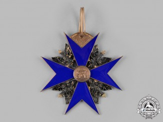 Prussia, Kingdom. An Order of the Black Eagle, Cross of the Order (Rothe Copy)