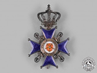 Lippe, Principality. An Order of Leopold, II Class Cross (Collectors Copy)
