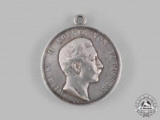 Germany, Imperial. A Silver Medal for Good Judgement by Emil Weigand