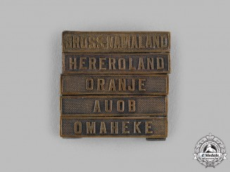Germany, Imperial. A Set of Southwest Africa Commemorative Medal Campaign Clasps