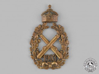 Germany, Imperial. A 1903 Imperial Artillery Badge, c.1905