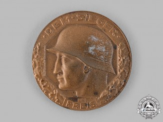Germany, Weimar Republic. A 1921 Reichsheer and Reichsmarine Championship Medal
