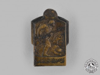 Turkey, Ottoman Empire. A First War Ottoman Cap Badge by Gurschner