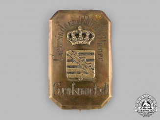 Saxony, Kingdom. A Community and Police Service Badge