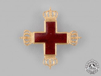 Germany, Imperial. A German Red Cross Decoration, I Class, Exhibition Example