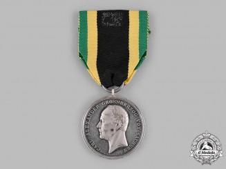Saxe-Weimar, Grand Duchy. A Silver Merit Medal, by Ferdinand Helfricht