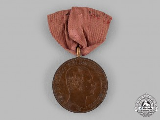 Saxe-Altenburg, Duchy. An 1864 Medal for Assistance in the Altenburg Castle Fire