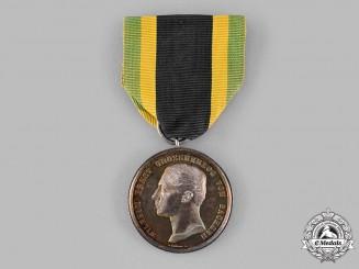 Saxe-Weimar, Grand Duchy. A Silver Merit Medal, by Arthur Krüger