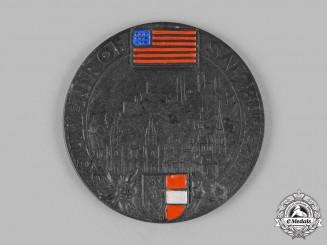 Austria, Allied Occupation; A Souvenir of Salzburg Medal 1946