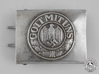 Germany, Heer. An EM/NCO's Belt Buckle
