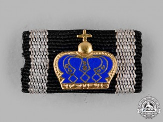 Germany, Federal Republic. A Pour le Mérite, Medal for Art and Science Ribbon Bar, 1957 Version
