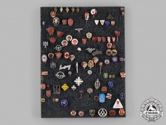 Germany, Third Reich. An Assorted Group of Badges and Stick Pins