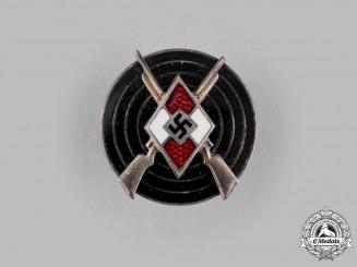 Germany, HJ. A Marksmanship Badge by Heinrich Ulbrichts Witwe
