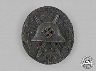 Germany, Wehrmacht. A Wound Badge, Bronze Grade, Spanish Manufacture