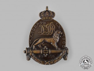 Germany, Weimar Republic. A 1924 Artillery Regiment Anniversary Badge