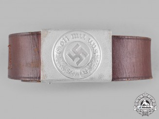 Germany, Heer. An  EM/NCO's Belt and Buckle by Josef Feix & Söhne