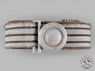 Germany, RAD. A Reich Labour Service (RAD) Leader's Belt and Buckle by F.W. Assmann & Söhne