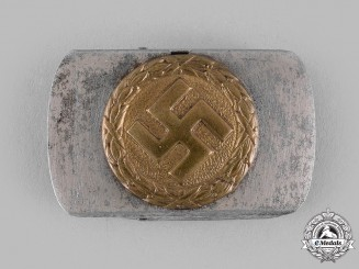 Germany, Third Reich. An Early NSDAP Supporter's Belt Buckle