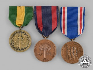 United States. Three Campaign Medals & Awards