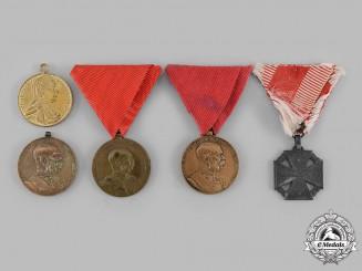 Austria, Empire. A Lot of Five Medals