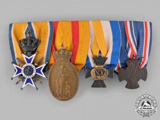 Netherlands, Kingdom. A Militia Award Group to J.N. Kramer, c.1918