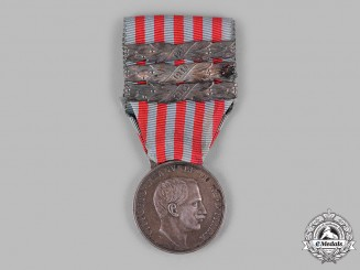 Italy, Kingdom. A Medal for the Libyan Campaign, Three Clasps