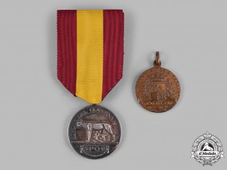 Italy, Kingdom. Two Medals & Decorations