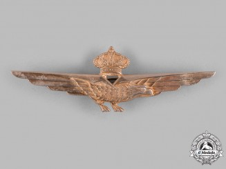 Italy, Kingdom. An Air Force Pilot's Badge, c.1935