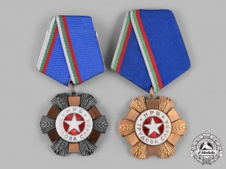 Bulgaria, People's Republic. An Order of Labour Glory, I Class & III Class
