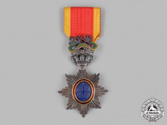 French Indochina, Annam. An Imperial Order of the Dragon of Annam, V Class Knight