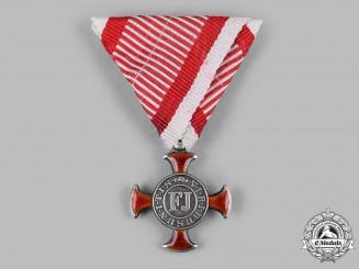 Austria, Empire. A Merit Cross 1849, IV Class, by F.Braun, c.1870