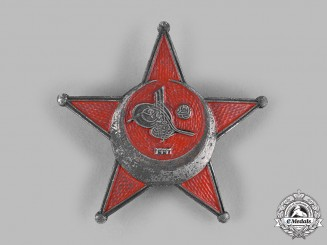 Turkey, Ottoman Empire. A War Medal (AKA Galipoli Star), c.1917