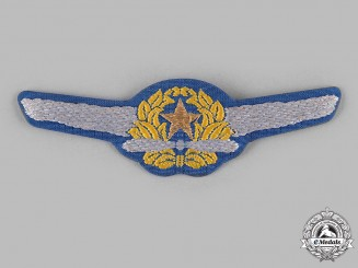 Japan, Empire. A Naval Pilot Badge, c.1940
