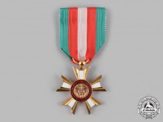 Madagascar, I Republic. A National Order of Madagascar, by Arthus Bertrand & Co., Knight c.1959
