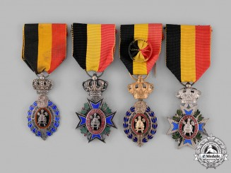 Belgium, Kingdom. Four Awards & Decorations