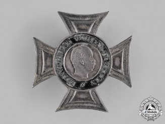 Germany, Imperial. A Frankfurt Veterans Association Membership Badge, by Jörgum & Trefz