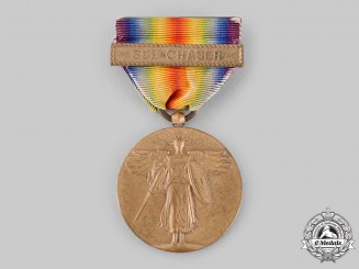 United States. A World War I Victory Medal, Sub Chaser