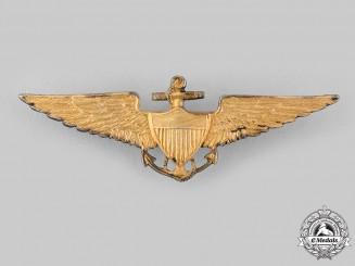 United States. A Scarce Naval Aviator Badge, c.1925