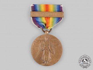 United States. A World War I Victory Medal, Mine Sweeping