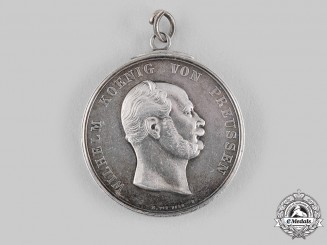 Prussia, Kingdom. A Kaiser Wilhelm I Marksmanship Medal by Christoph Carl Pfeuffer