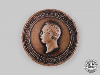 Württemberg, Kingdom. A Medal for Agricultural Merit