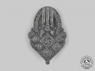Germany, Third Reich. A 1939 Gautag Leipzig Badge, by Wächtler & Lange